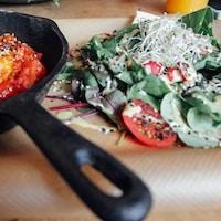 Vegetarian Baked Pan - $15