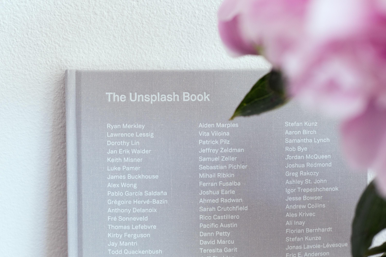 closeup photo of The Unsplash Book