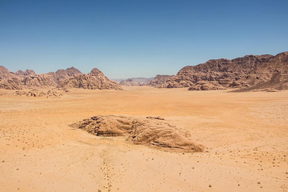 landscape of photography of desert
