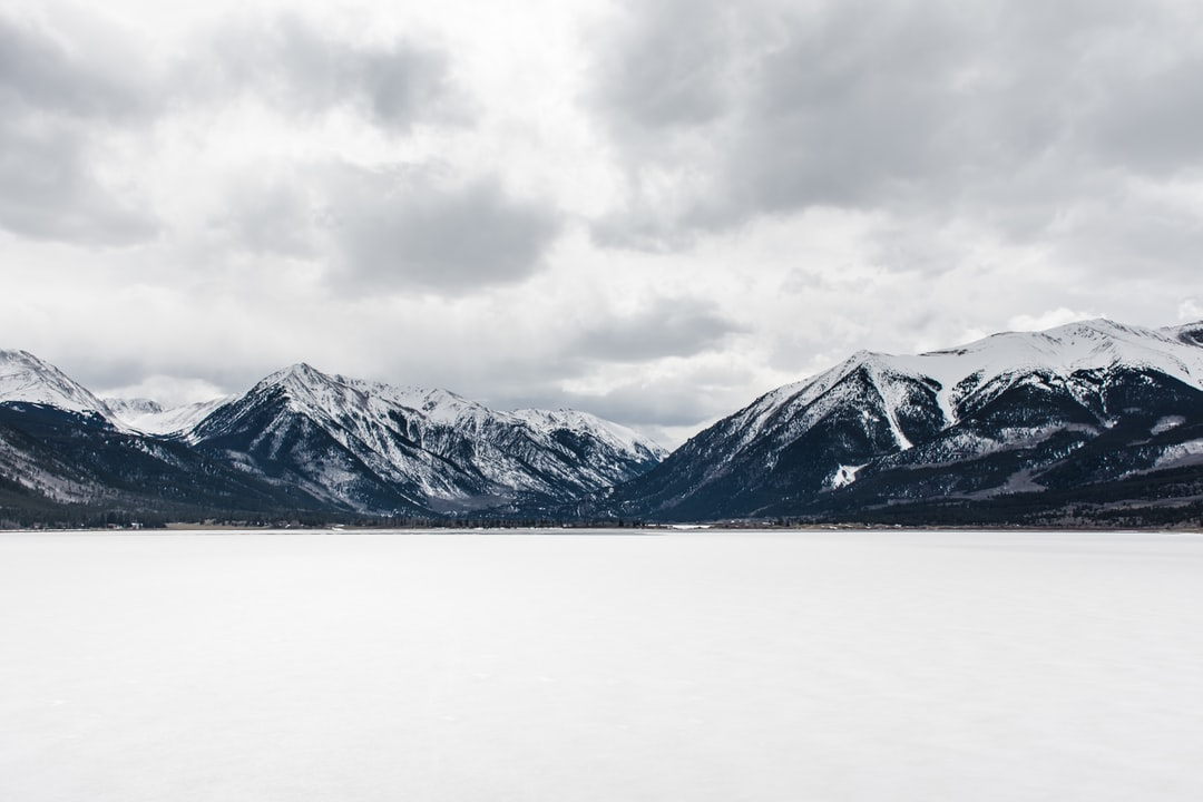 Cloudy Skies Over Mountains