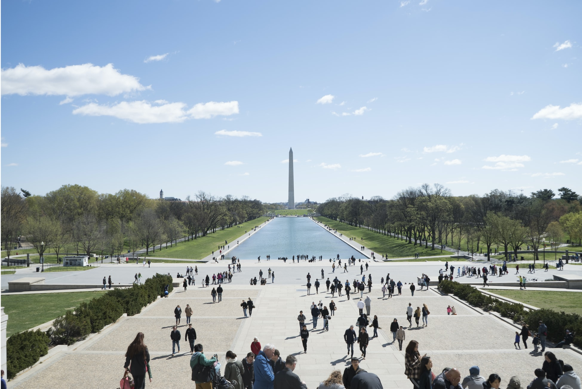the National Mall in Washington D.C.