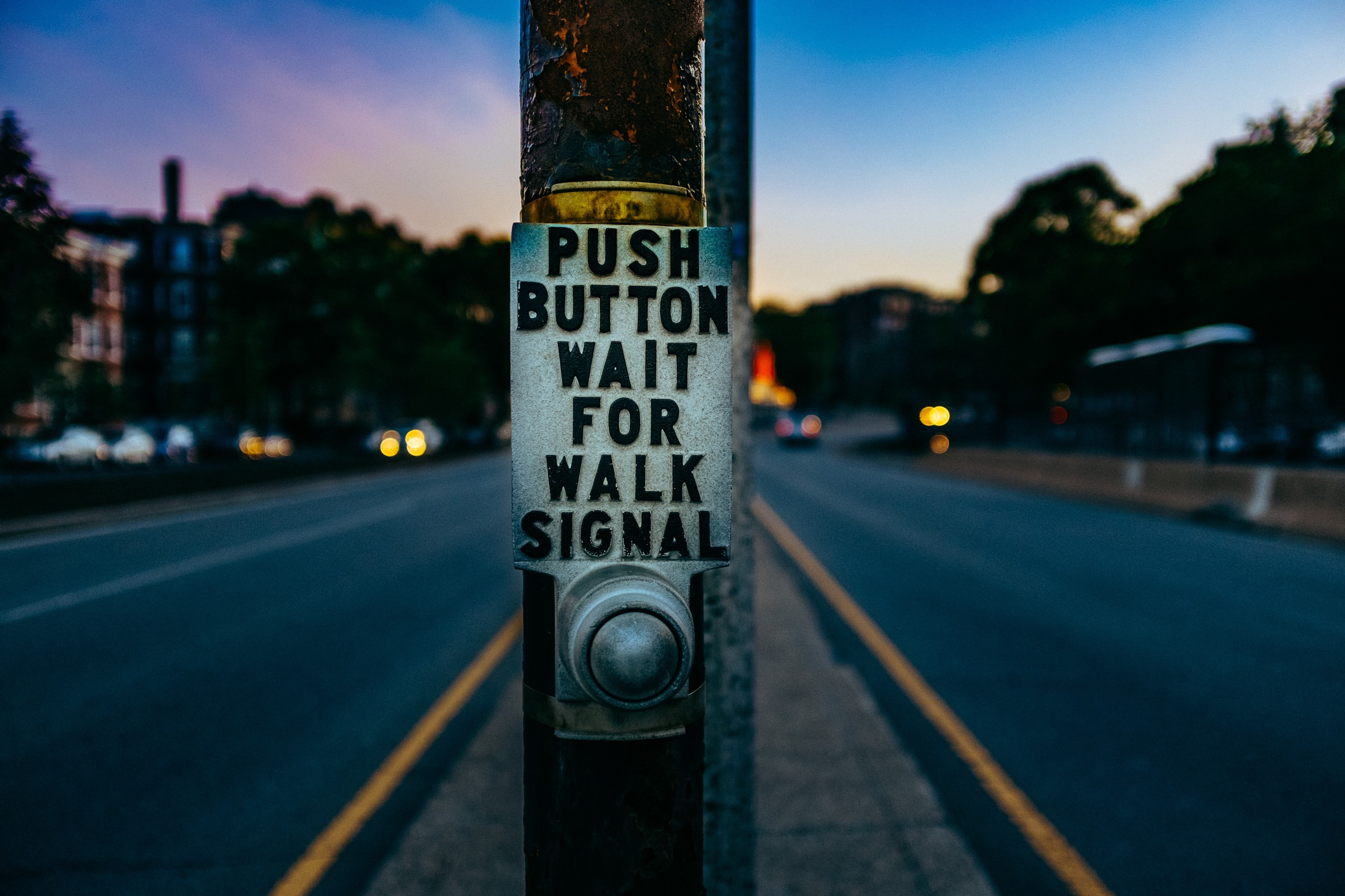 push button print post