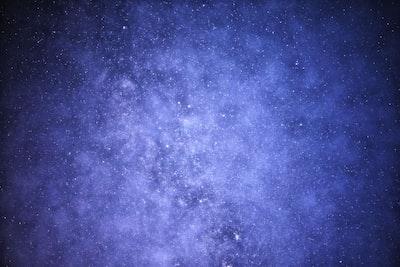 milky way celestial zoom background