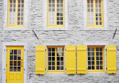 scandinavian door