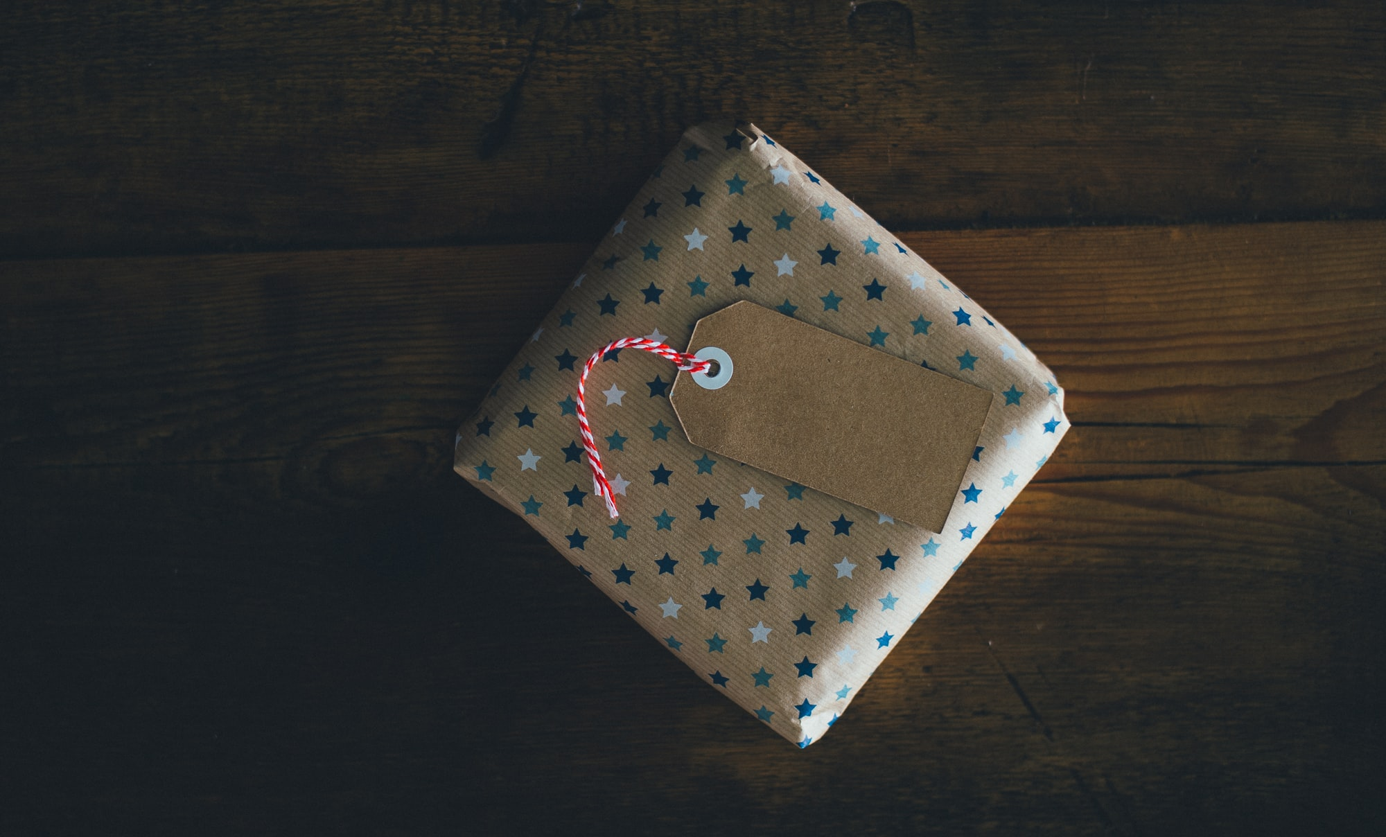 Brown paper gift