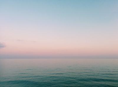 ocean during sunset wellness zoom background