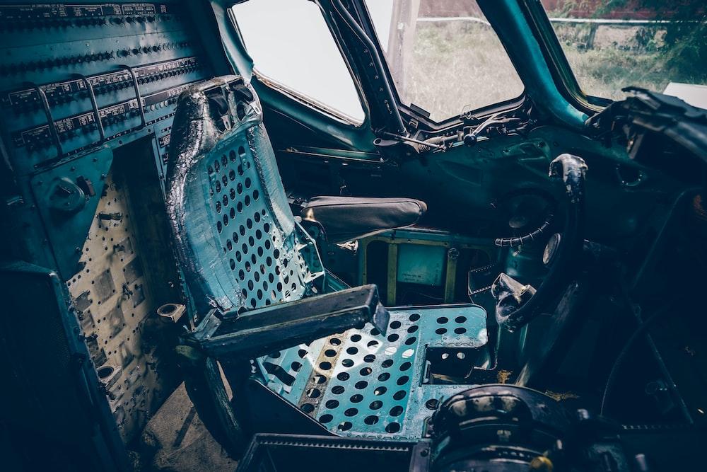 photography of plane dock