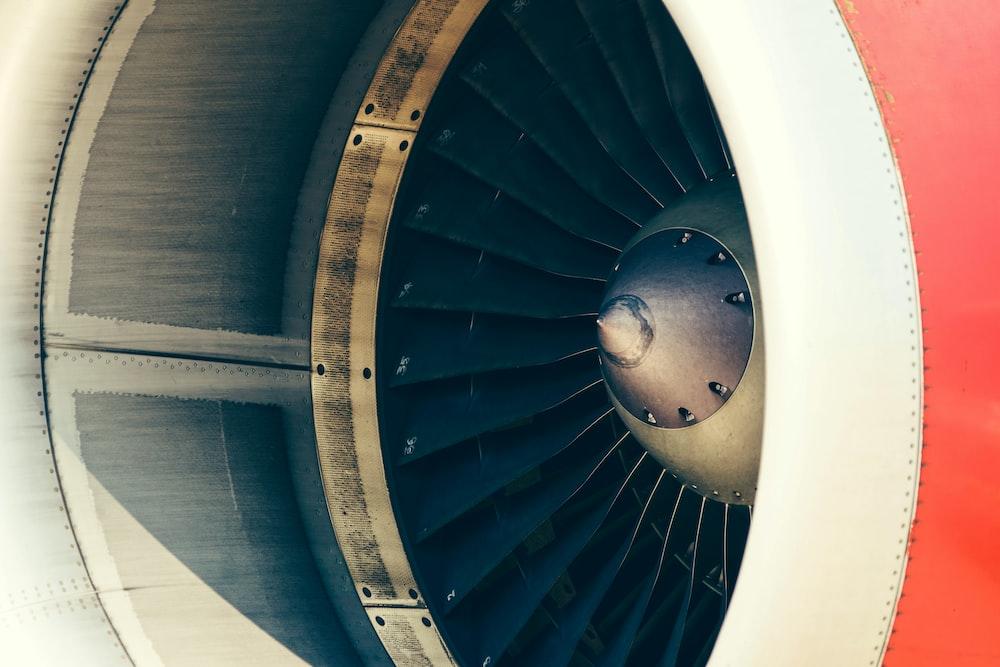 airplane turbo fan