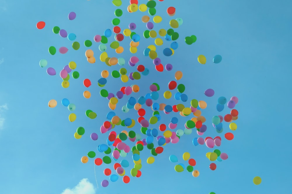 balloon on sky