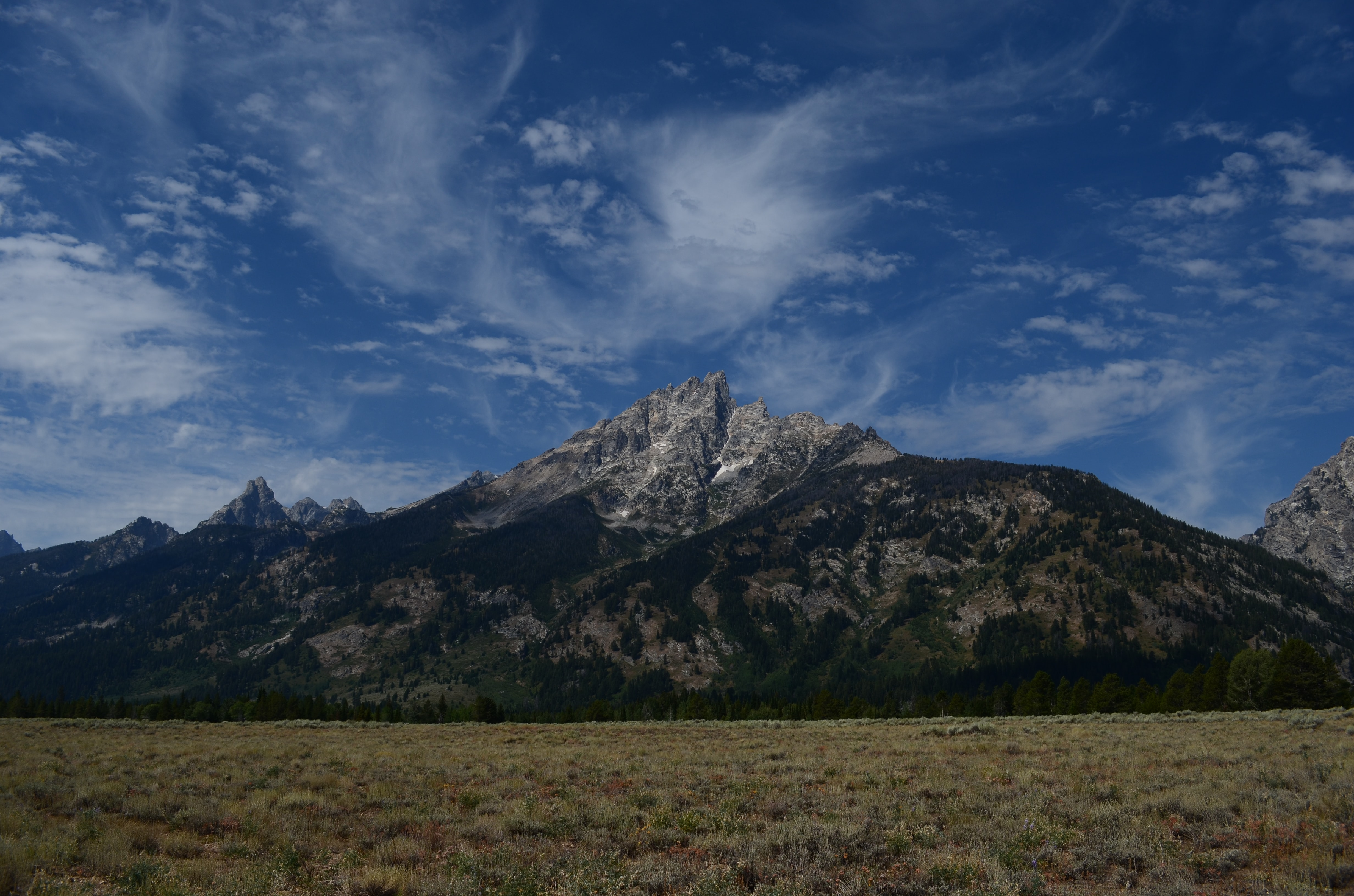 gray mountain during daytime