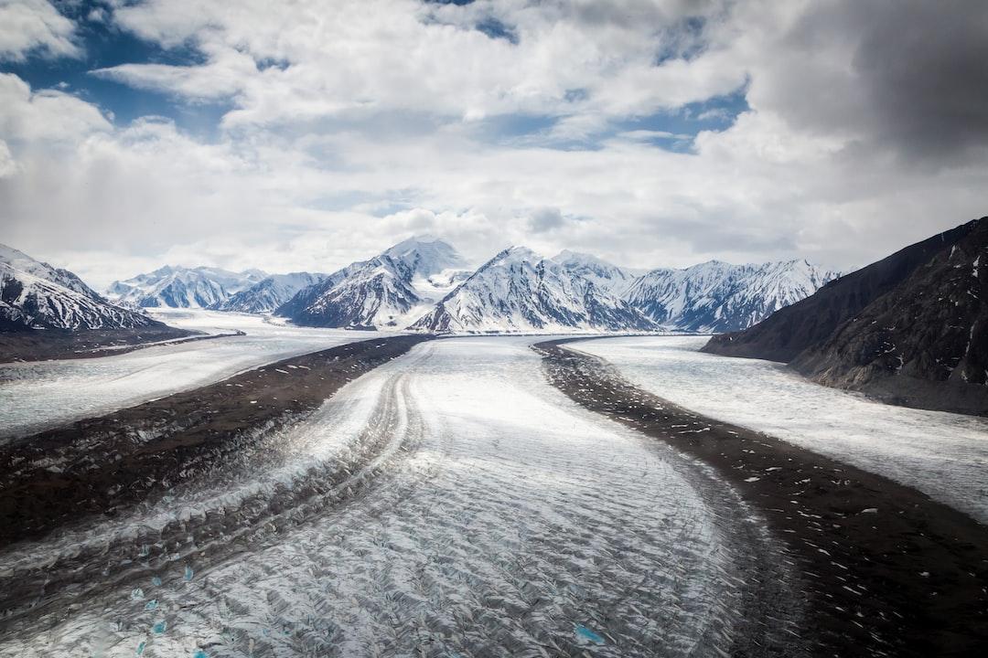 snow roads in Yukon Territory