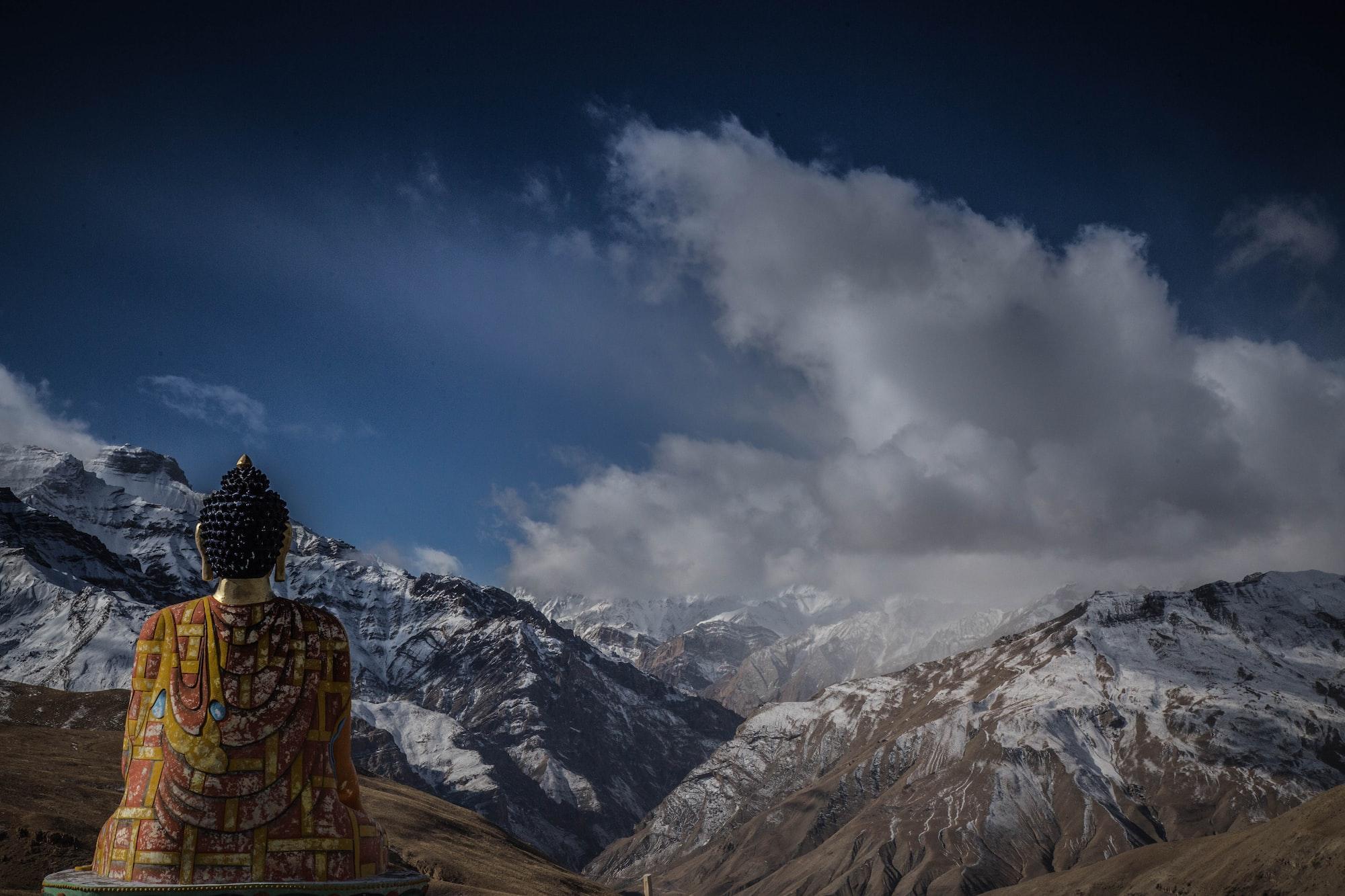 Buddha In Mountains