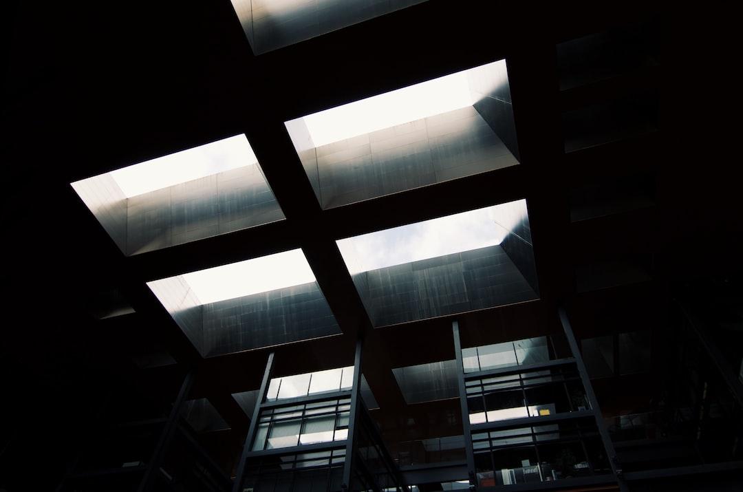Black building architecture
