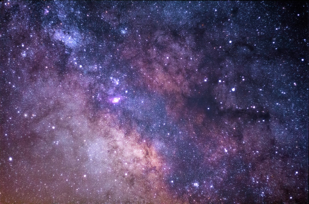 Stars Galaxy Rocky Mountain