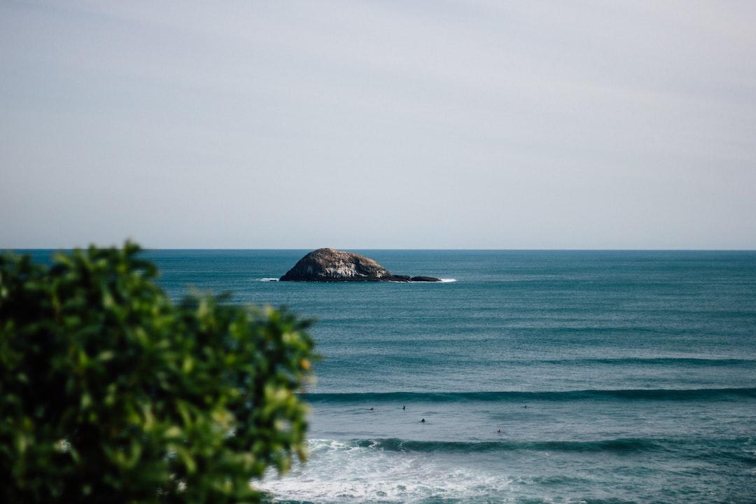 Ocean island view