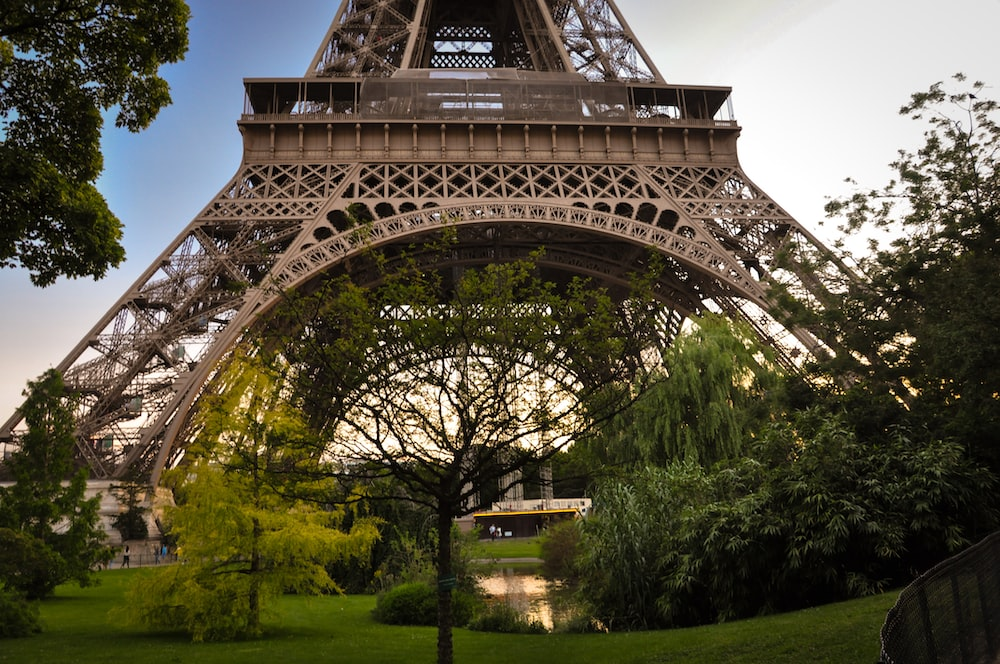 worm's eye view photography of Eiffel Tower, Paris