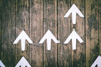 Upwards arrows