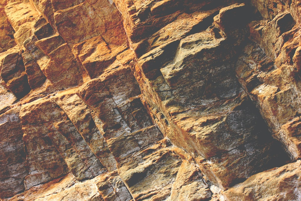 brown rock formations at daytime