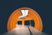 photography of empty tunnel