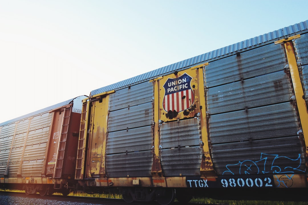 Union Pacific freight car