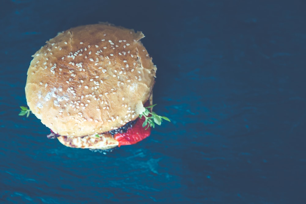 burger with vegetable