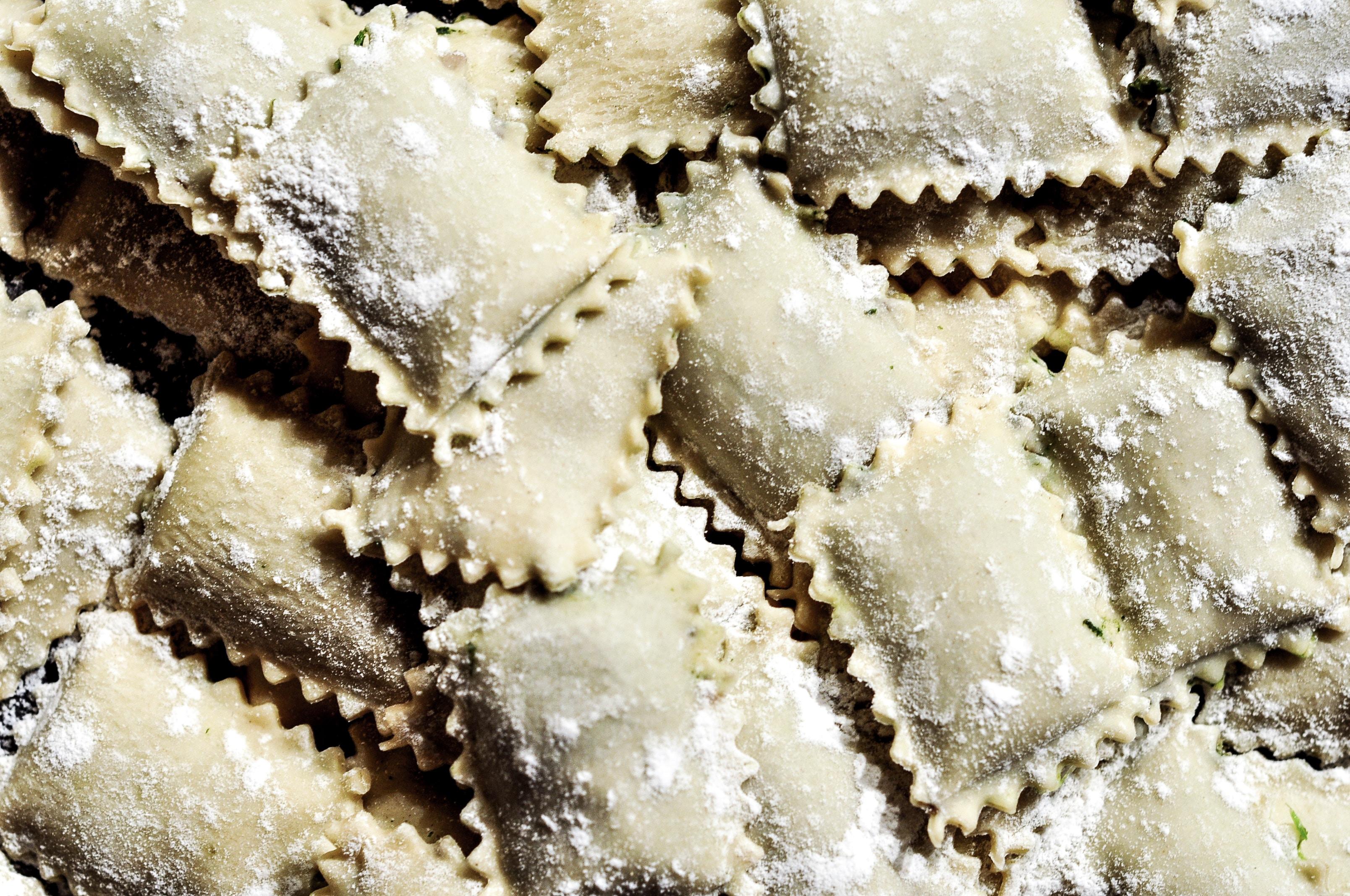 pile of pasta