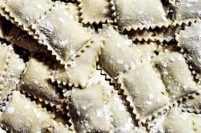 Cover Image for Mushroom ravioli