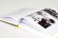 closeup photo of opened book