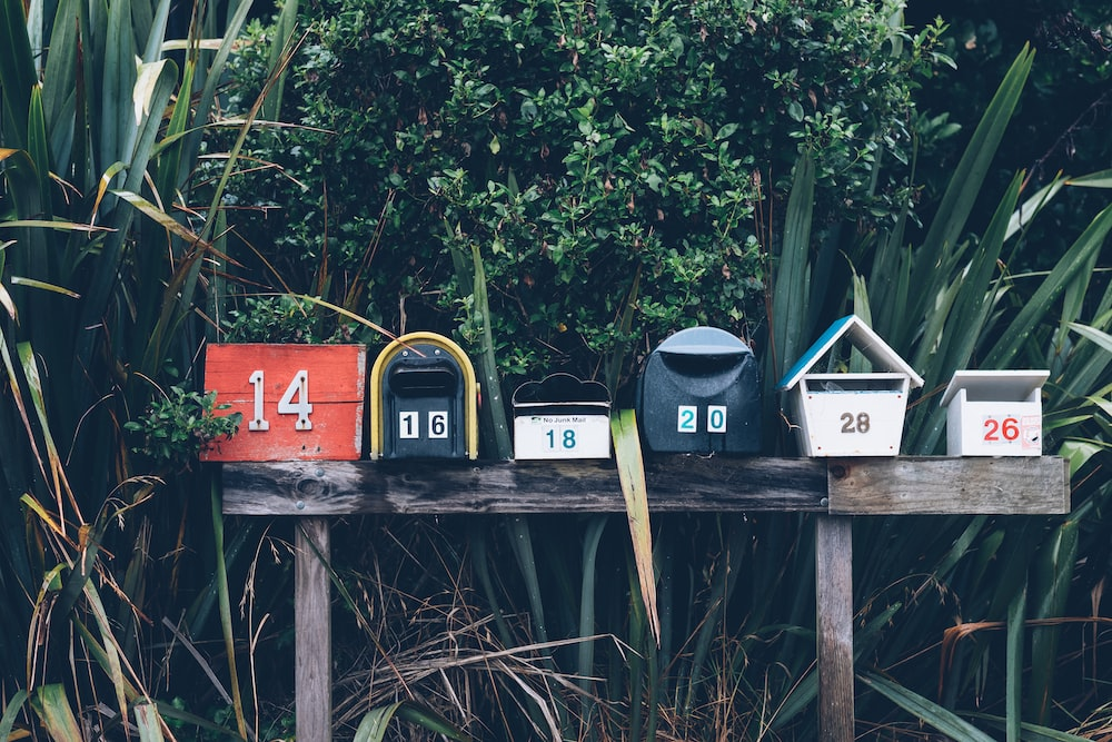 Muriwai Mailboxes Photo By Mathyas Kurmann Mathyaskurmann On Unsplash - Carrelage pas cher et grand tapis de souris amazon