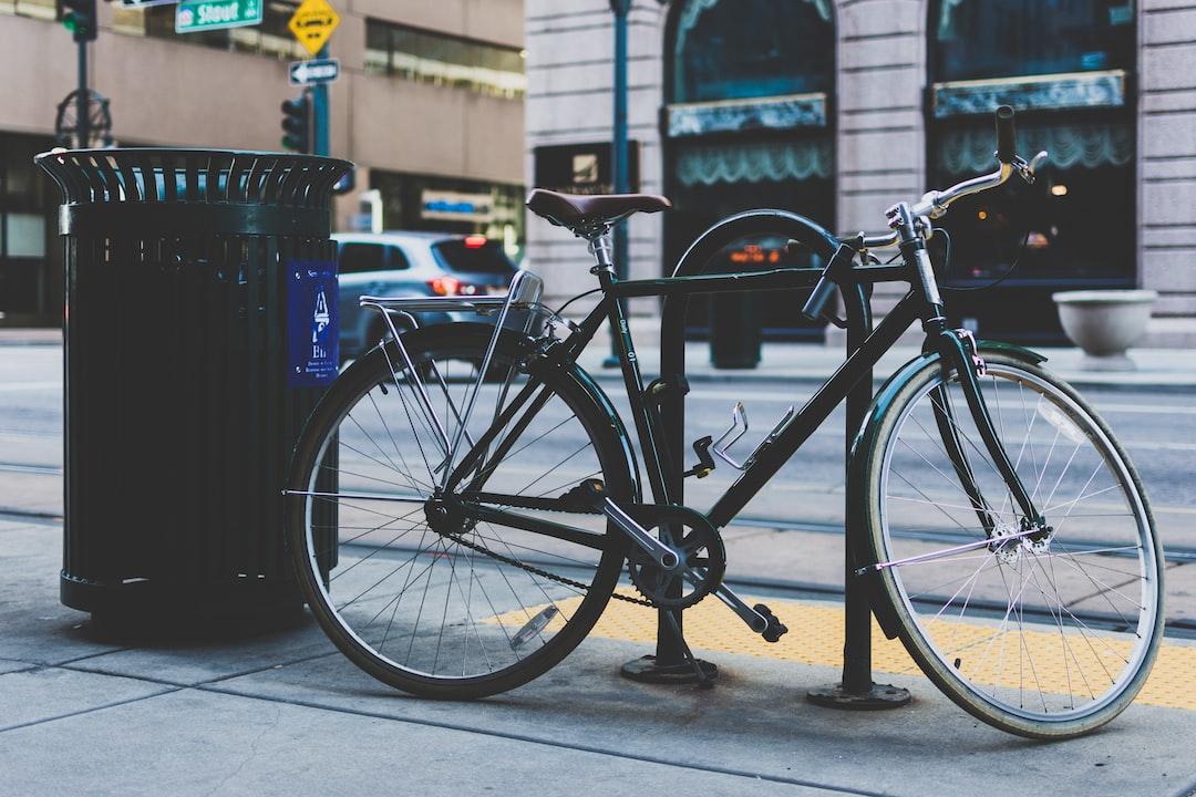 Secured bicycle