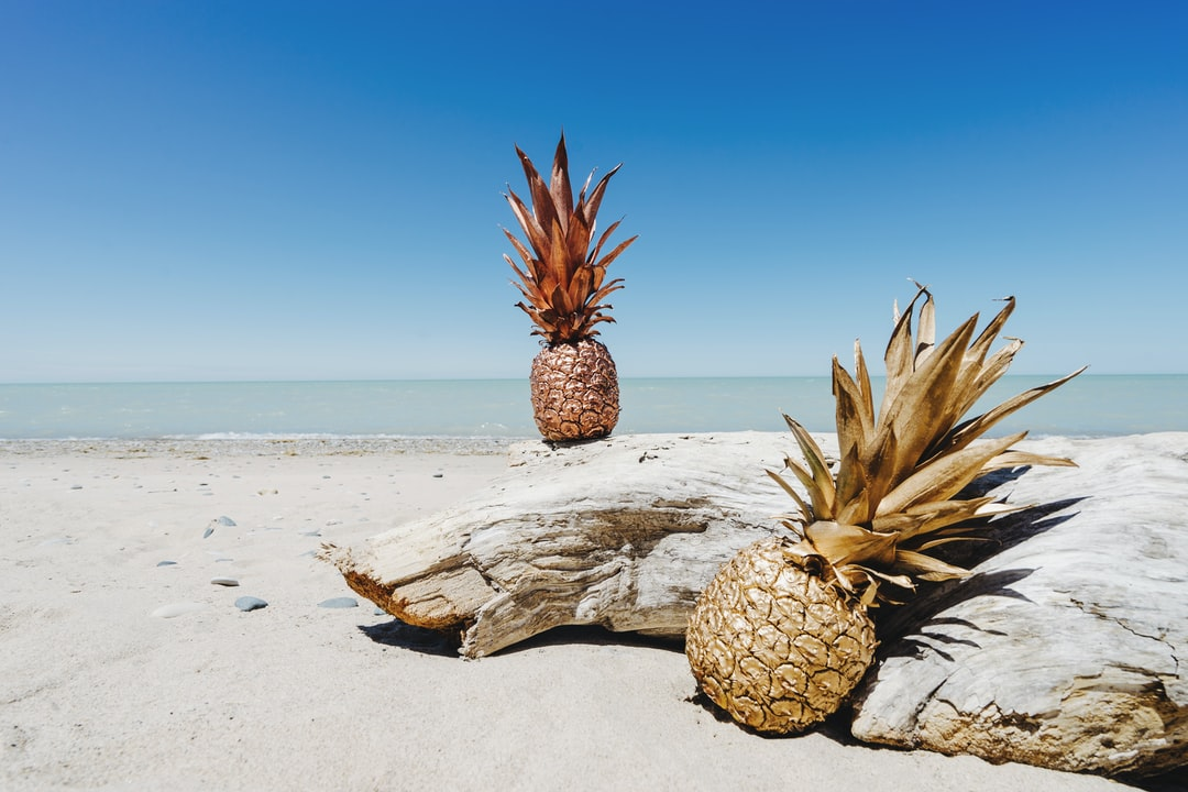 High-resolution pineapple image for free download