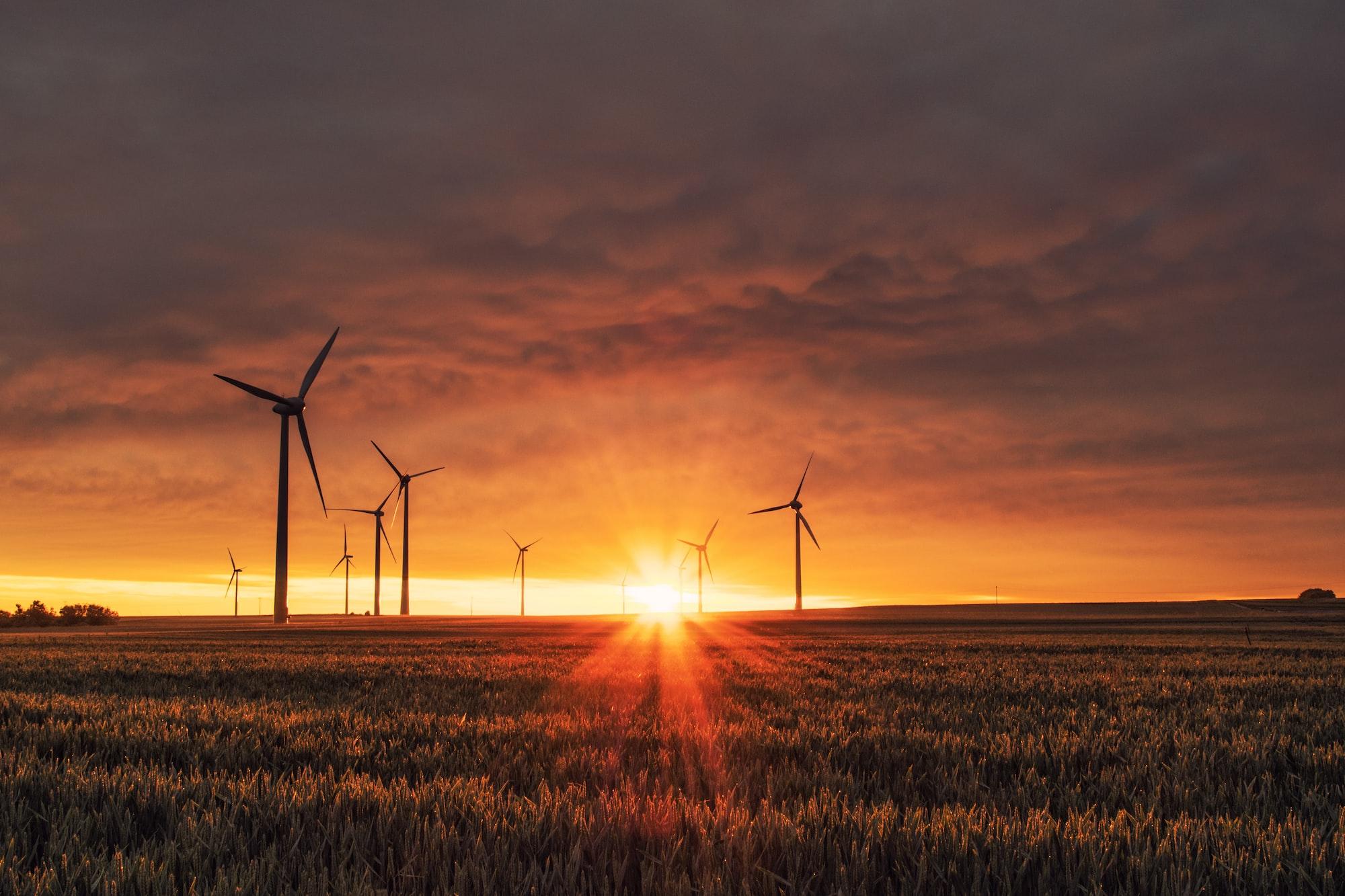 Herleitung der Windturbinenleistung (Gesetz von Betz)