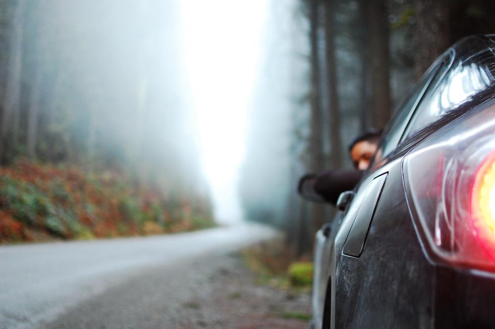 shallow focus photography of car