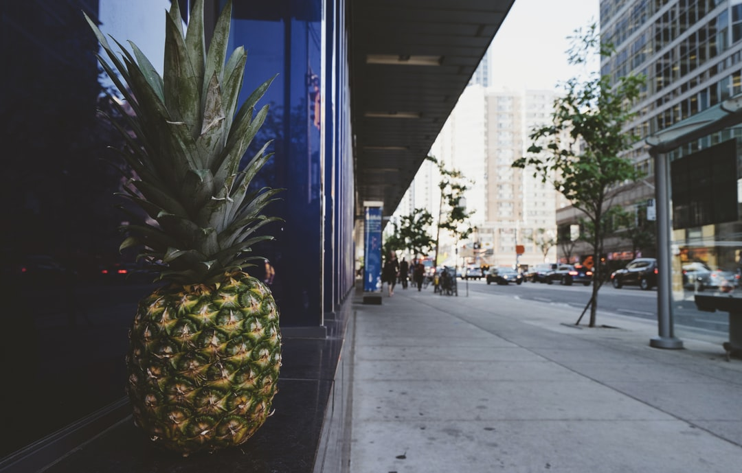Pineapple Image that is available for free download. Shot in Toronto