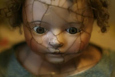 Just a shell of a broken doll.  doll stories