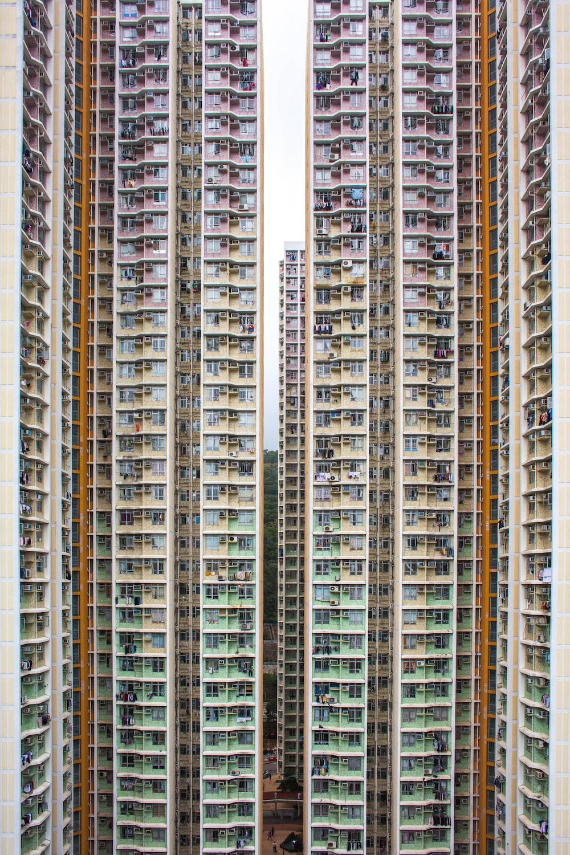 beige high-rise building