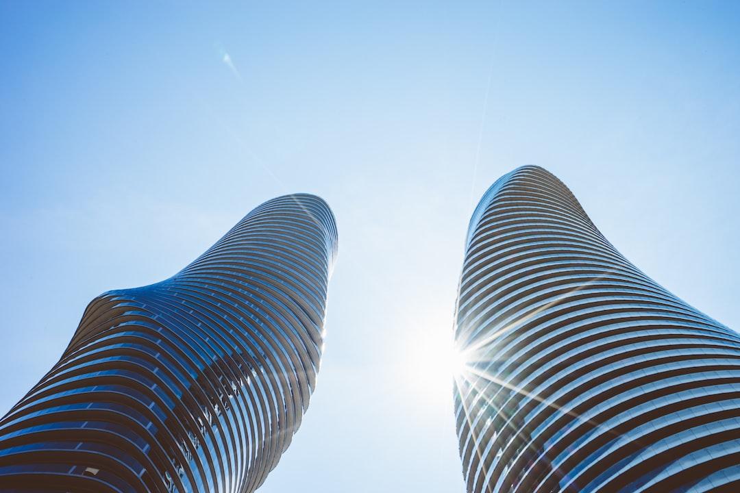 Twin twisting towers