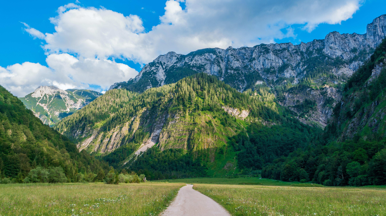 A trail in the Austrian mountains
