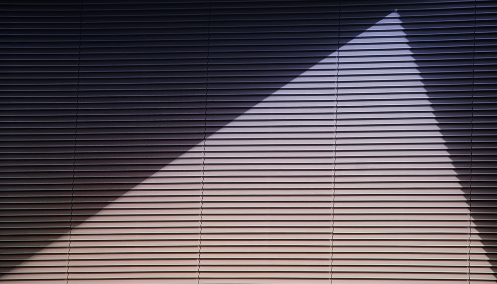 brown window blinds