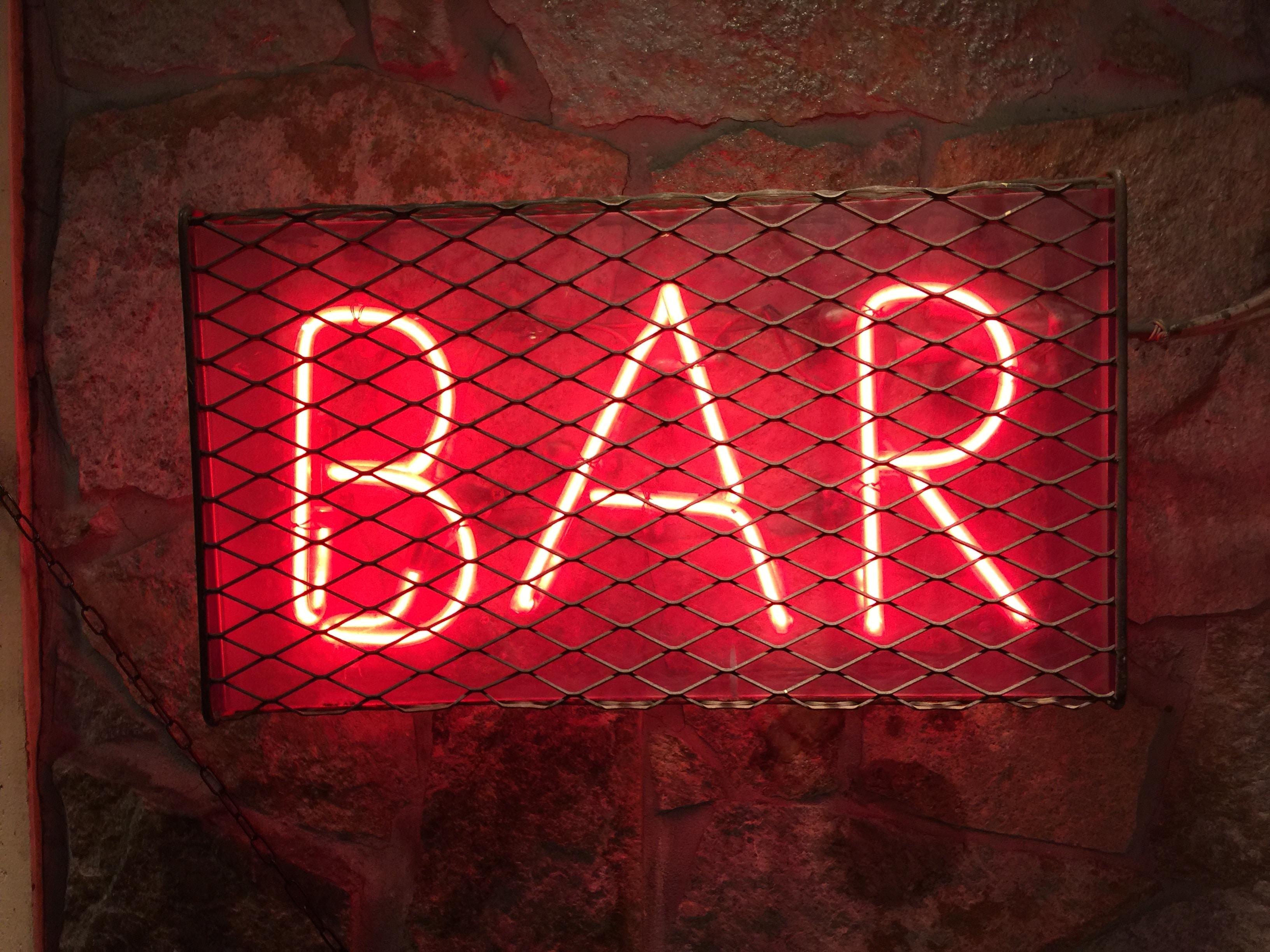 bar LED signage
