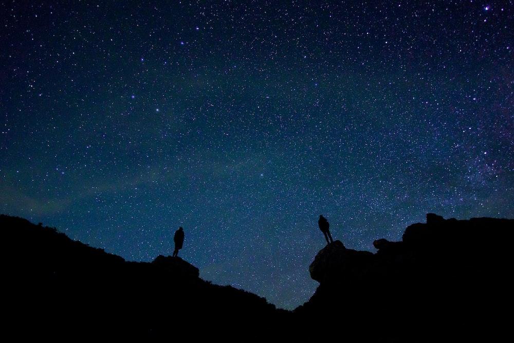 galaxy during nighttime