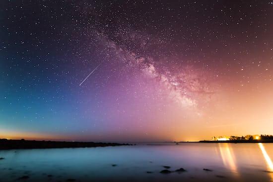 Milky way above body of water. @krisroller, unsplash.com