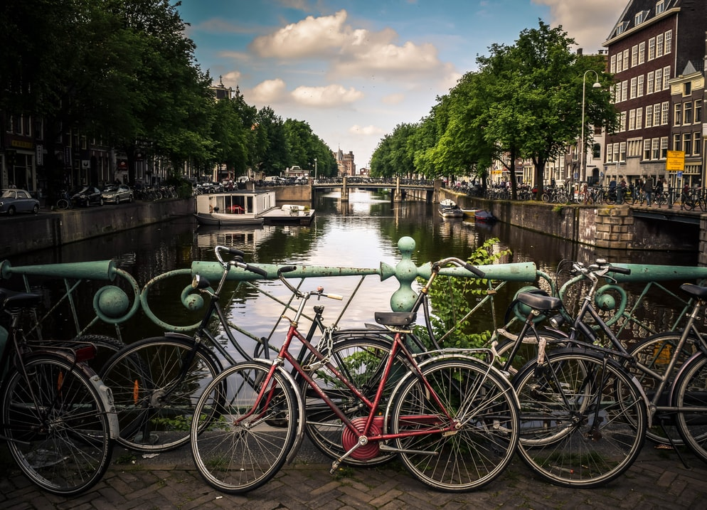 Cycles in Amsterdam