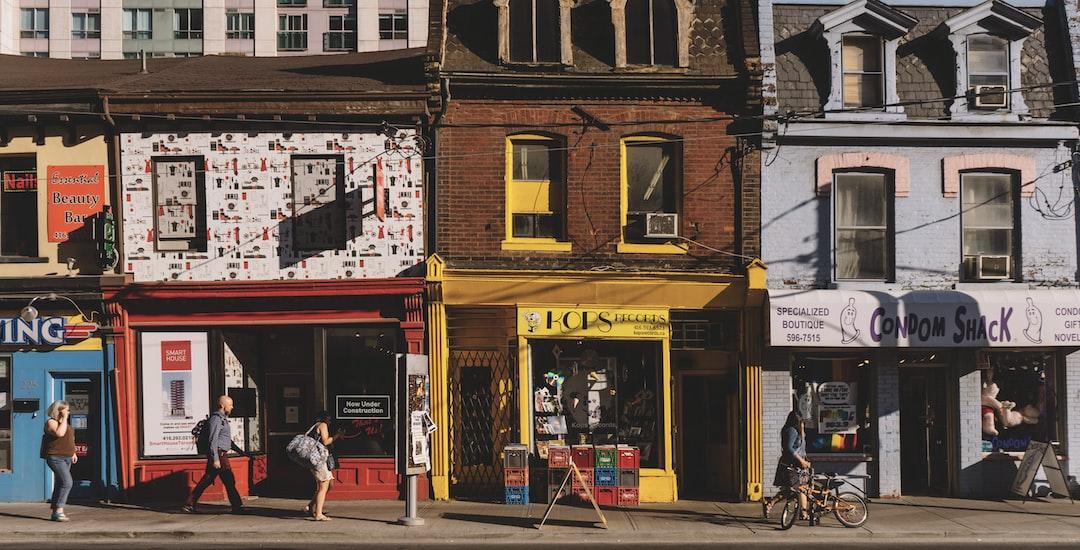 Toronto storefronts
