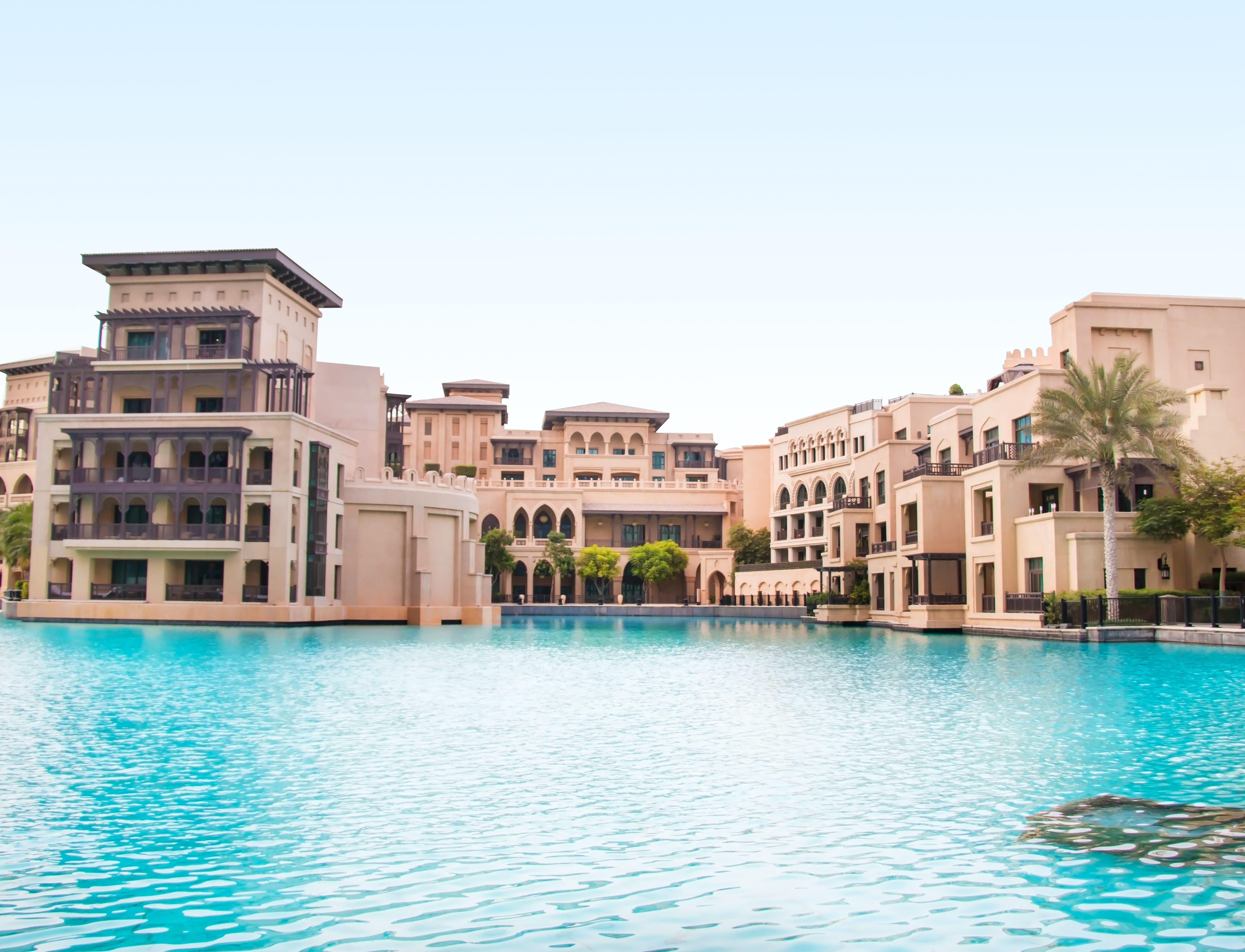 Middle-Eastern resort