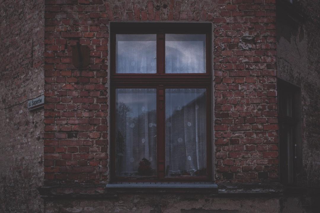 Brick and square window