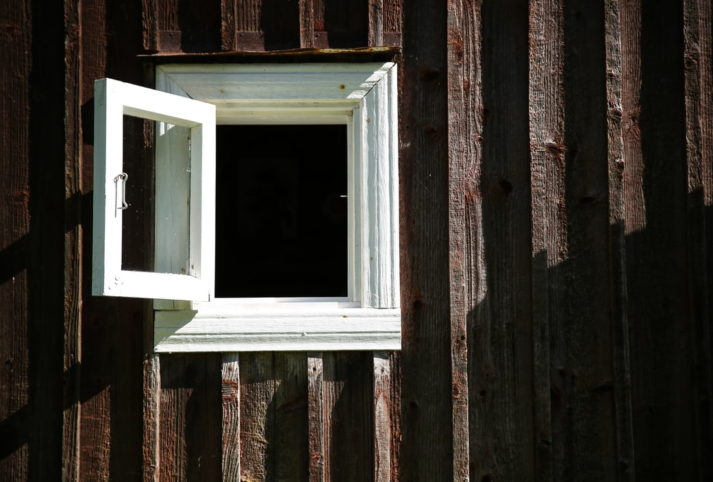 image of open window