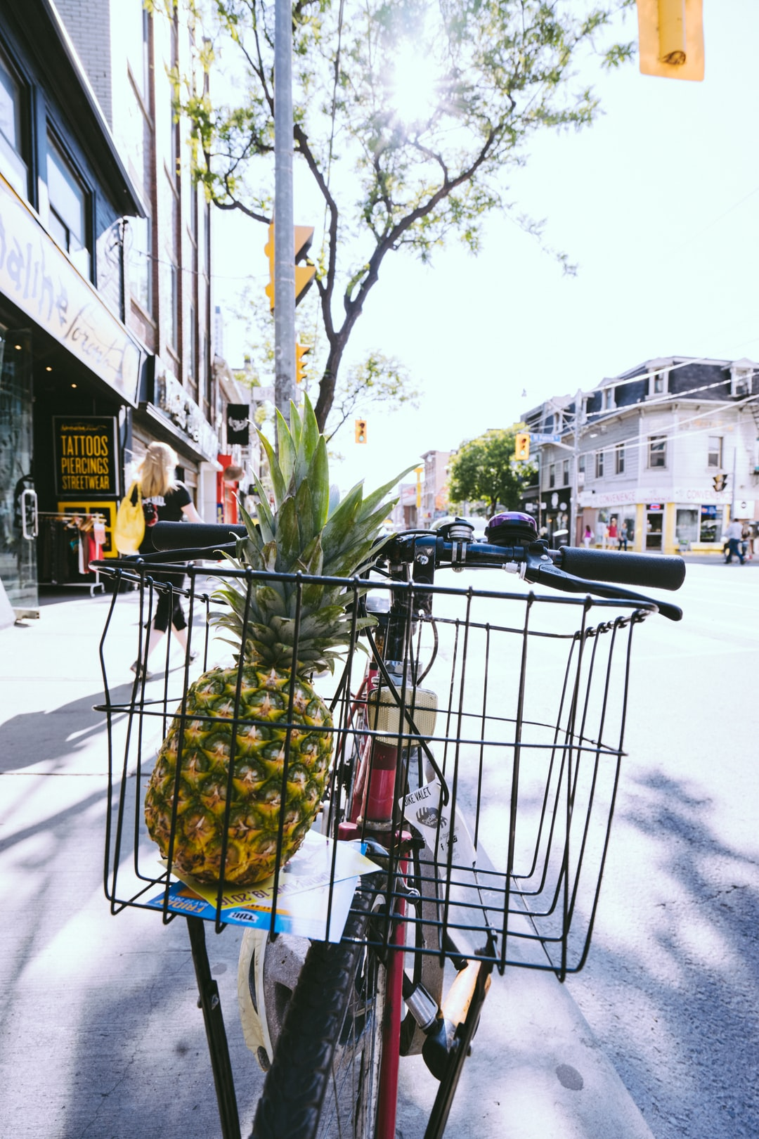 free pineapple image shot in toronto