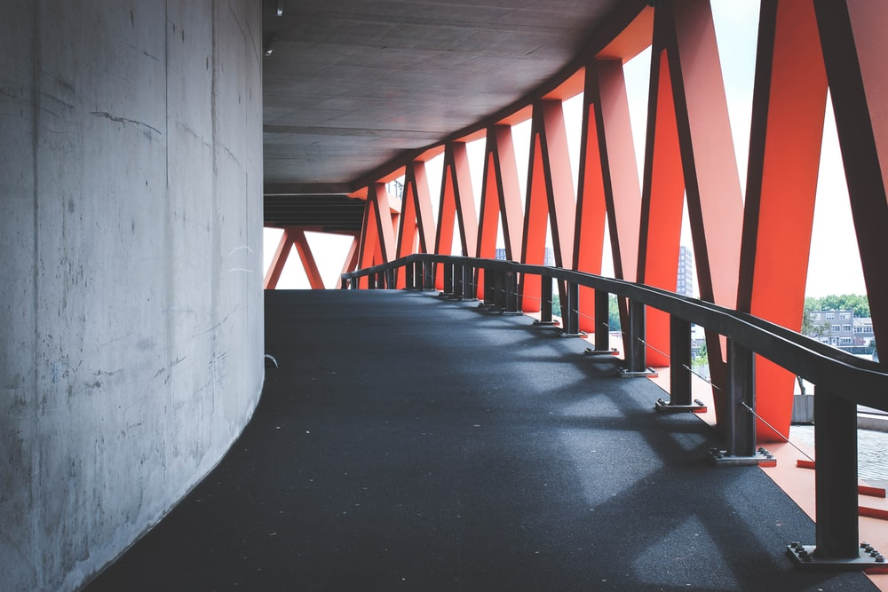 photography of under bridge