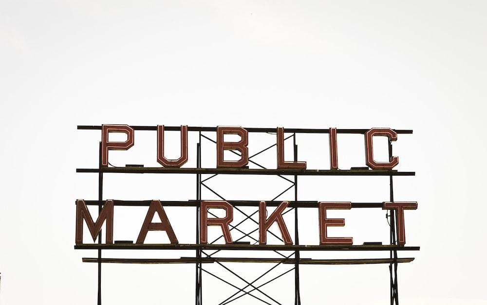 Public Market signage